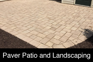 Paver Patio and Landscaping